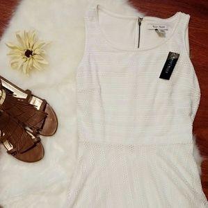 White House Black Market Dresses & Skirts - WHBM white crochet dress