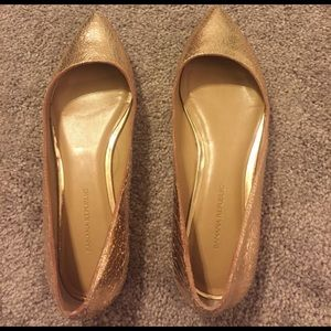 Pointed metallic flats