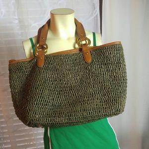 Summer satchel bag RALPH LAUREN