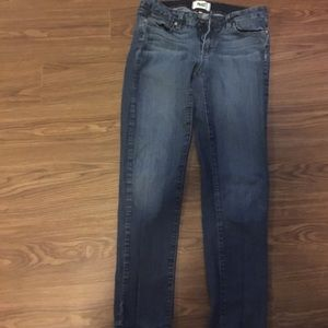 Paige jeans size 29 cropped