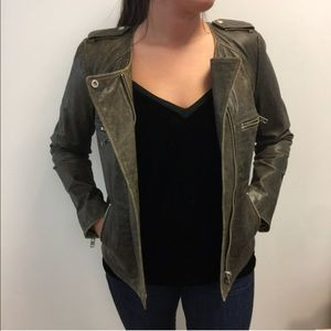 Isabel Marant Etoile Brown Leather Jacket