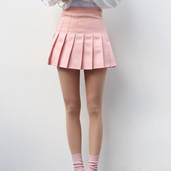American Apparel Skirts | Aa Dupe Forever 21 Baby Pink ...