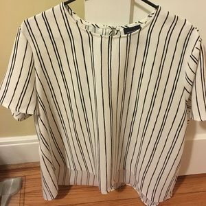who what wear Tops - Who what wear striped blouse