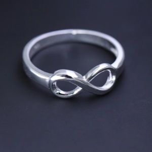 Jewelry - Silver 925 infinity ring stamped on inside 7 new