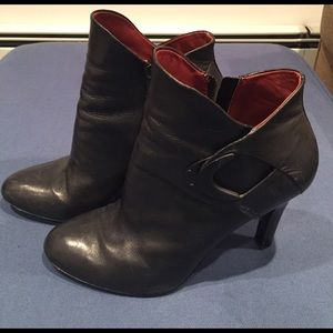 Aerin Shoes - Black leather Aerin ankle booties, great fit!