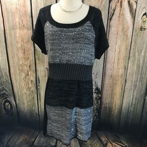 Style&Co- Knit Tunic Sweater