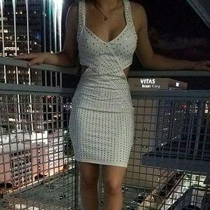 bebe Dresses & Skirts - Bebe Sexy Studded dress