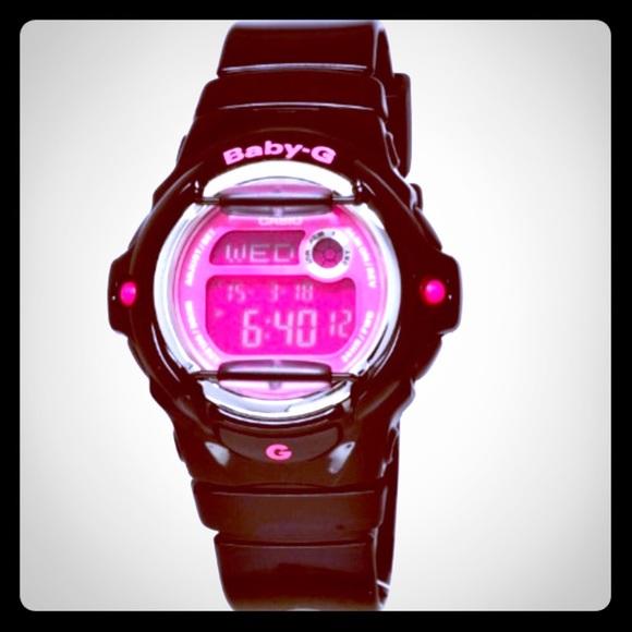 66894ad4a9 Casio🎀⏱BABY G Shock watch: BG169G-7B/Black Pink🌸