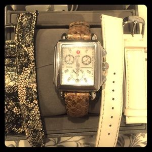 Michele Accessories - Michele Watch with three bands and tag