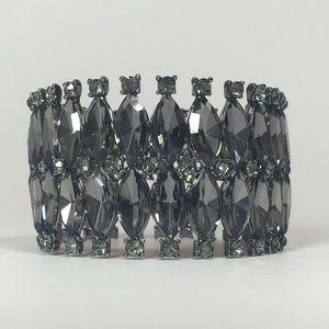 ⚔️Devonshire Bracelet - Grey with Grey Crystals