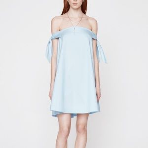 Brand new Rebecca Minkoff off-shoulder dress