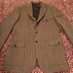 John Varvatos Other - John Varvatos Brown Tweed Sport Coat