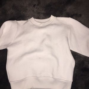 Surface to Air Sweaters - WHITE CREWNECK