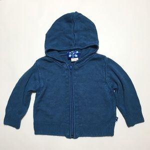 Kickee Pants Other - Kickee Pants Kicky Twilight Blue Sweater Hoodie