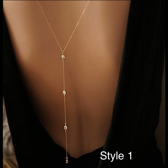 c481f339121 Jewelry | Summer Boho Sexy Back Or Beach Bikini Body Chain | Poshmark