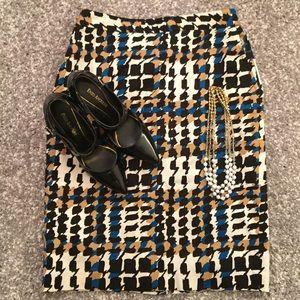 Charter Club Dresses & Skirts - {Charter Club} Geometric Pencil Skirt