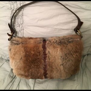 ANTONIO MELANI Handbags - Rabbit fur Antonio Melani small handbag!