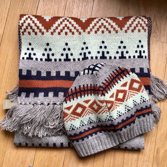 J. Crew - Dec Sale ❄ J. Crew Fair Isle Scarf and Hat from ...