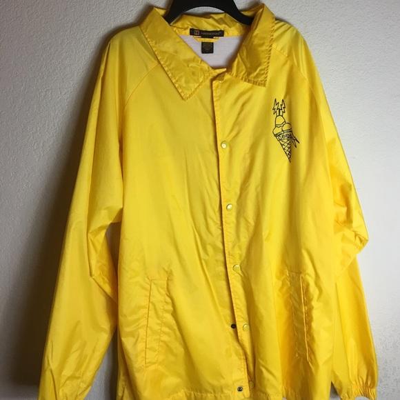 eeba1f1ed Jackets & Coats | Gucci Mane Yellow Rain Coat | Poshmark