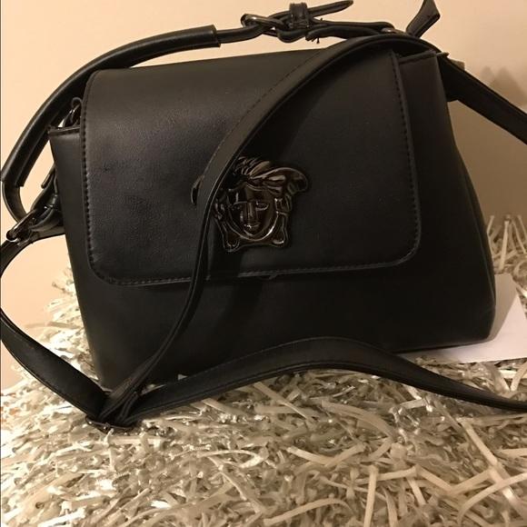 922fed2462ad Vegan Leather medusa shoulder bag