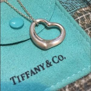 Tiffany & Co. Jewelry - Tiffany & Co. Heart Pendant Necklace