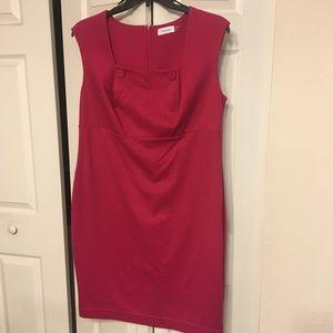Calvin Klein Magenta Dress
