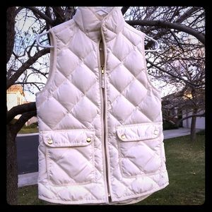 Cream j. Crew excursion vest