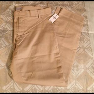 GAP Slim Cropped Khaki Pants - Women's 2 *NWT*