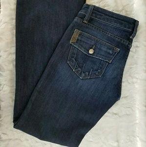 Paige Petite Laurel Canyon Bootcut Jeans