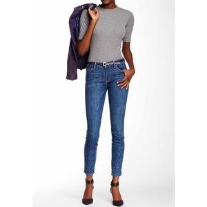 Genetic Denim Denim - Genetic 'Stem' Mid-rise Skinny Medium Wash Jeans