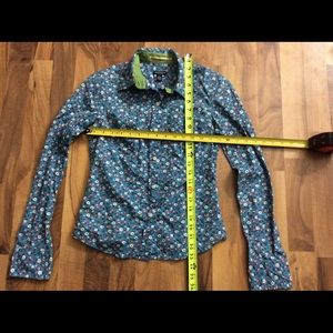 American Eagle Outfitters Tops - AE American Eagle SZ 0 Floral Button Up Shirt Top