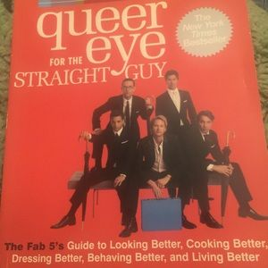🎠Queer Eye For The Straight. Guy self help book