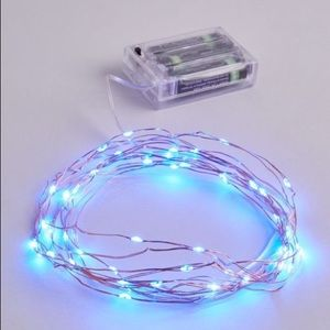 Ankit Urban Outfitters vintage blue lights LED