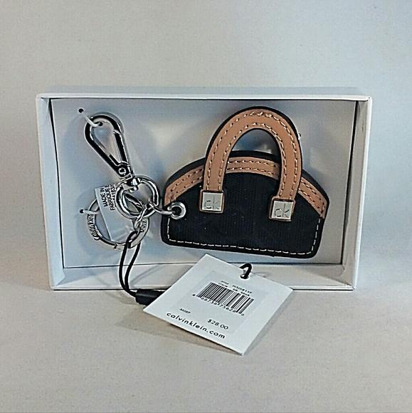 e8b272f36c45 Calvin Klein Key Chain Key Fob Mini Purse Charm