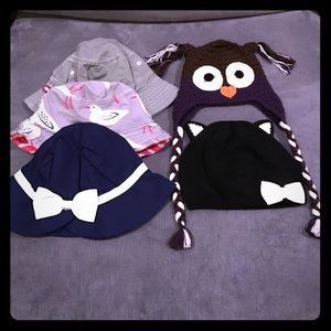 Mini Boden Other - 5x Toddler Girl Hats (2T-3T)
