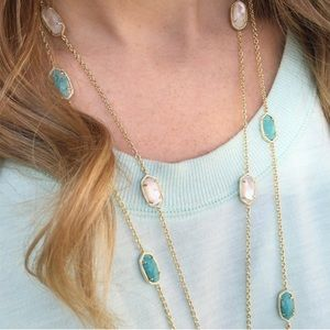 Kendra Scott Kellie Gold ivory mother of pearl