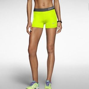"Nike Pants - NIKE PRO 3"" Womens COMPRESSION shorts"
