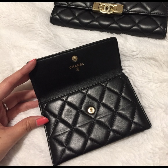 9896c554f15d Chanel lambskin card holder case coin pouch wallet.  M_58995d49620ff7deda0f9f2b. Other Accessories ...