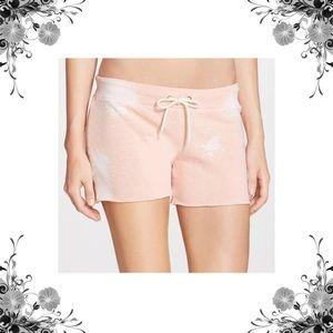 Monrow Pants - Monrow Pink Burnout Shorts