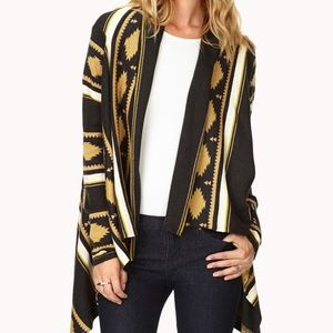 Forever 21 westbound draped cardigan