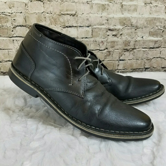 cf36cdf4845 Men's Steve Madden Harken Leather Chukka Boot