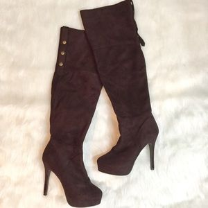 Charles David Shoes - Charles David Over The Knee Boots