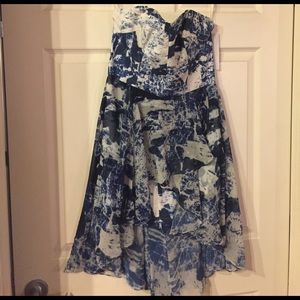 NWT French Connection strapless dress