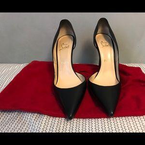 Christian Louboutin Shoes - black christian louboutin (Iriza Half-d'Orsay)
