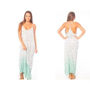 Tiare Hawaii Dresses & Skirts - NWT Tiare Hawaii teal maxi dress