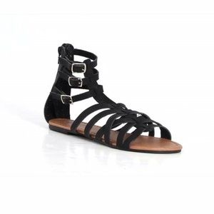 Steve Madden Shoes - Faux Leather Gladiator Sandals