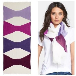 Kate Spade New York abstract bow scarf