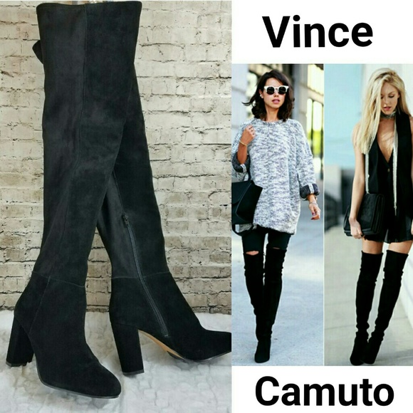 16325c105c4 NEW Vince Camuto Selial Over the Knee Suede Boots