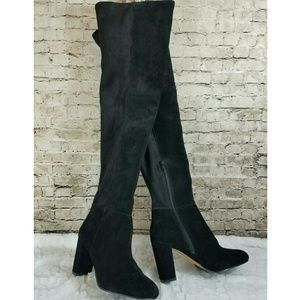 5890661078f Vince Camuto Shoes - NEW Vince Camuto Selial Over the Knee Suede Boots