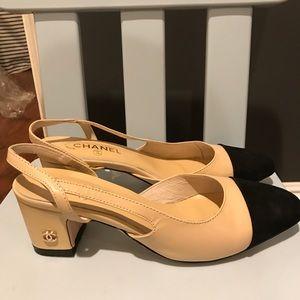 7c6bb9e9a8 Shoes | New Two Tone Coco Chanellike Slingbacks | Poshmark